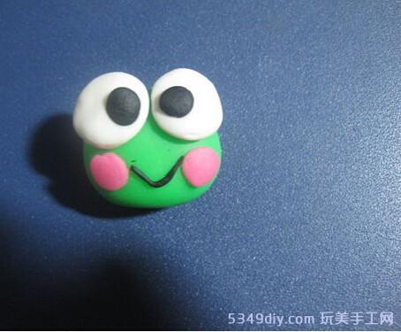 粘土diy手工制作可爱小青蛙步骤