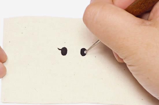手缝基本针法-回针缝