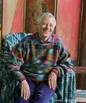 早在上世纪七十年代,他在编织设计和技法研创方面就已风靡世界 ... ...